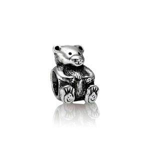Pandora Silver Teddy Bear Charm *Retired*